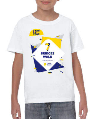 kids custom tshirt white