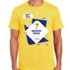 mens custom tshirt yellow